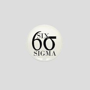 Six Sigma Mini Button
