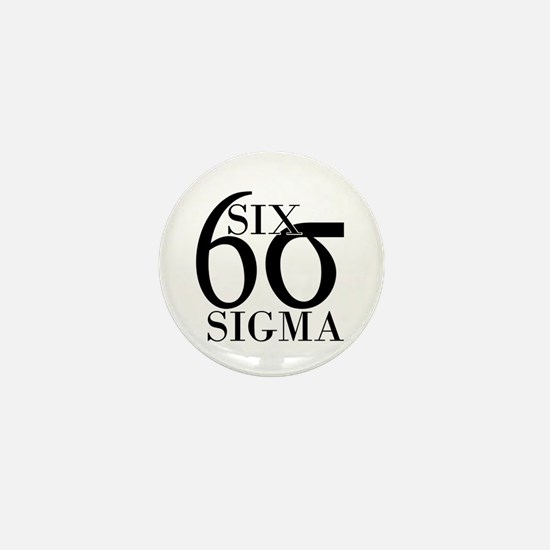 Six Sigma Mini Button
