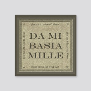 ds mi basia mille Sticker