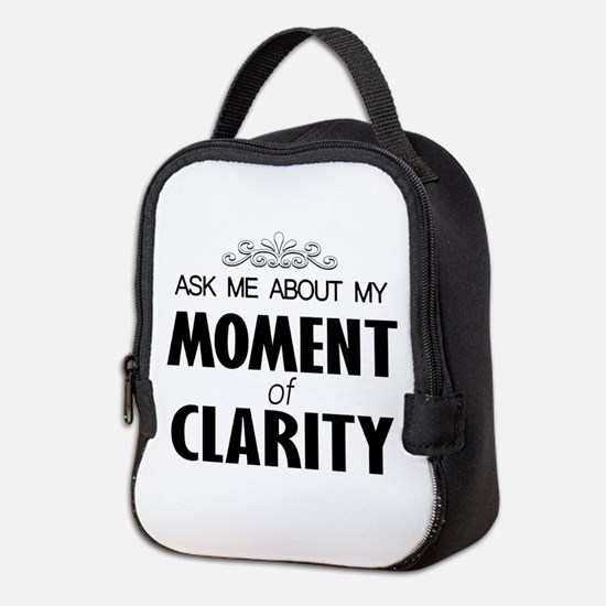 Moment of Clarity... Neoprene Lunch Bag