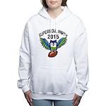 Superb Owl Party Women's Hooded Sweatshirt