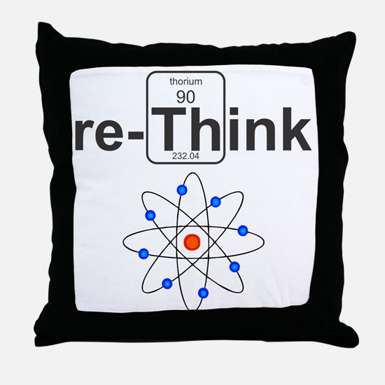re-Think Throw Pillow