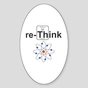re-Think Sticker (Oval)