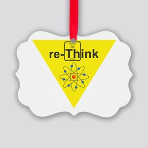 re-Think b Picture Ornament
