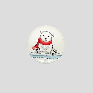 BABY POLAR BEAR Mini Button