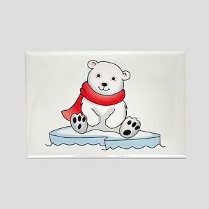 BABY POLAR BEAR Magnets