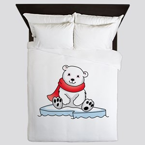 BABY POLAR BEAR Queen Duvet