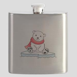 BABY POLAR BEAR Flask