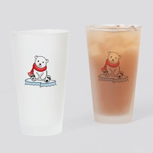 BABY POLAR BEAR Drinking Glass