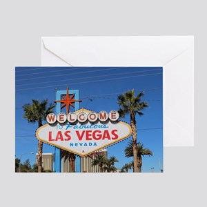 Las Vegas Birthday Greeting Cards
