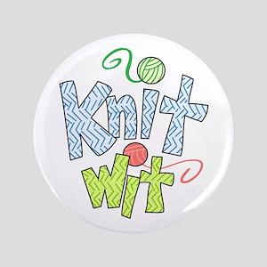 "KNIT WIT 3.5"" Button"