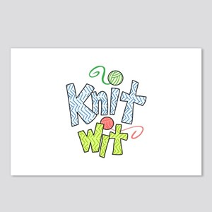 KNIT WIT Postcards (Package of 8)