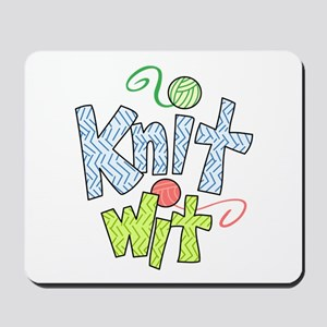 KNIT WIT Mousepad