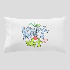 KNIT WIT Pillow Case