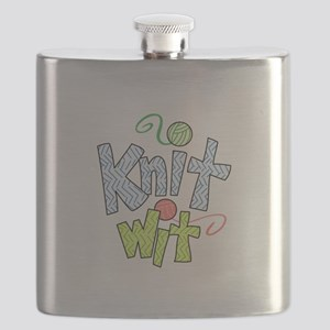 KNIT WIT Flask