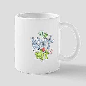 KNIT WIT Mugs