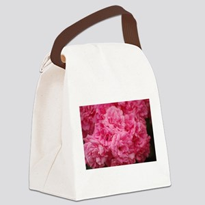 Pale pink roses Canvas Lunch Bag