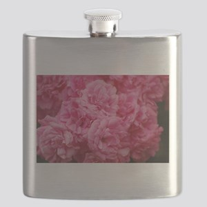 Pale pink roses Flask