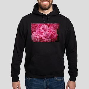 Pale pink roses Hoodie (dark)
