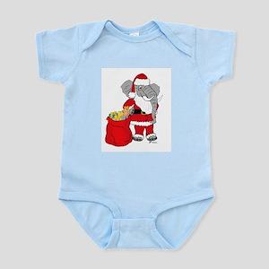 "Sant""E"" Claus Christmas/Holiday  Infant Creeper"