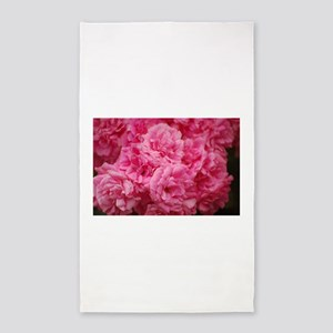 Pale pink roses Area Rug