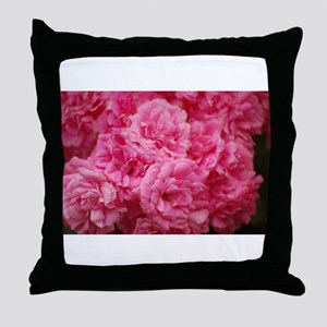 Pale pink roses Throw Pillow