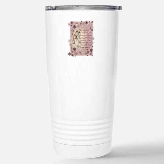 Jane Austen Quote Stainless Steel Travel Mug