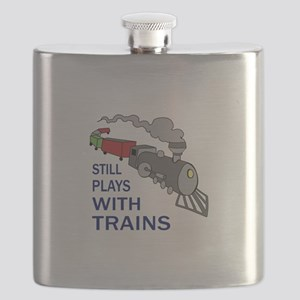 PLAYS WITH TRAINS Flask