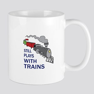 PLAYS WITH TRAINS Mugs