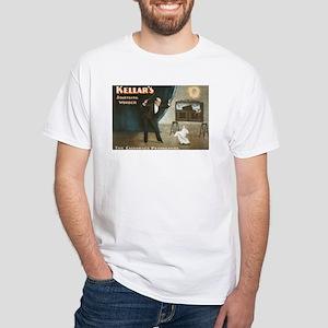 KELLAR MAGIC white t-shirt