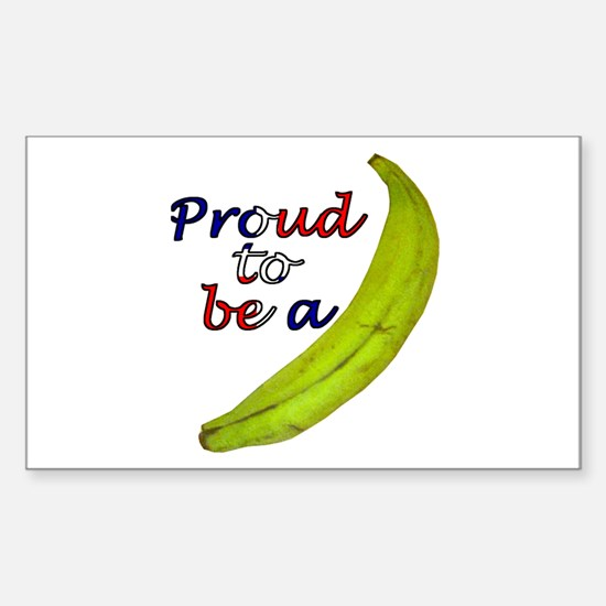Proud To Be Sticker (Rect.)