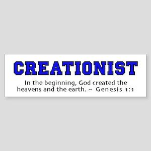 Creationist (BLU) 2.0 - Bumper Sticker