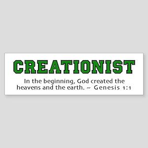 Creationist (GRN) 2.0 - Bumper Sticker