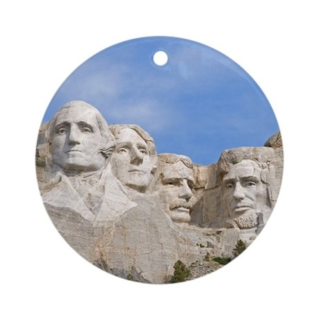 Rushmore 1682 Ornament (Round)