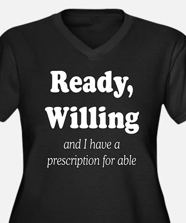 PRESCRIPTION FOR ABLE Plus Size T-Shirt