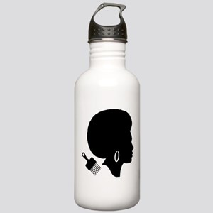 vintage black afro ame Stainless Water Bottle 1.0L