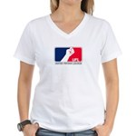 UFL Women's V-Neck T-Shirt