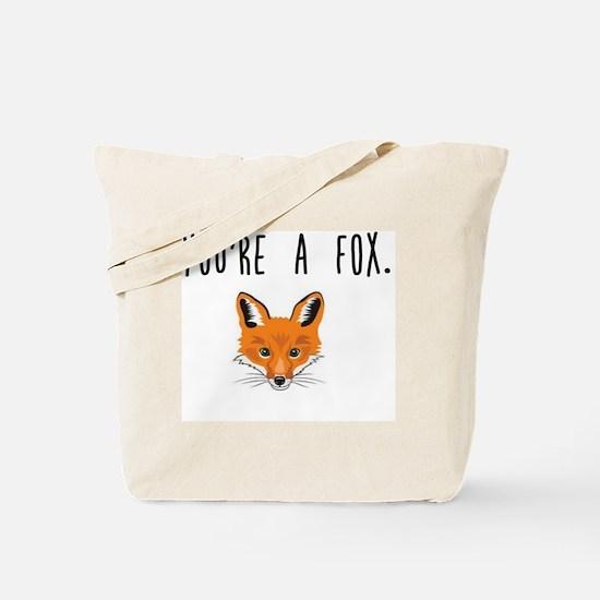 Unique Foxy Tote Bag