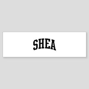 SHEA (curve-black) Bumper Sticker
