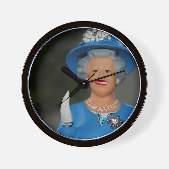 Funny English royalty Wall Clock