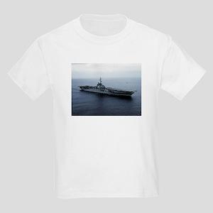 USS Princeton Ship's Image Kids Light T-Shirt