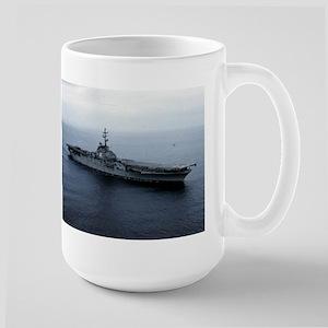 USS Princeton Ship's Image Large Mug