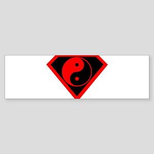 YING YANG SHIRT SPIRITUAL T-S Bumper Sticker