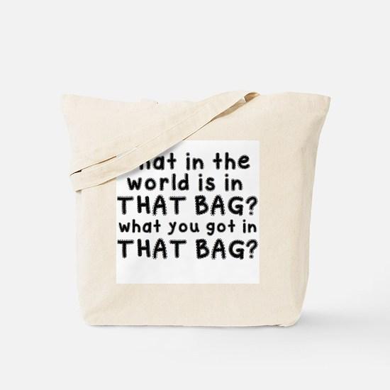 That BAG! Tote Bag