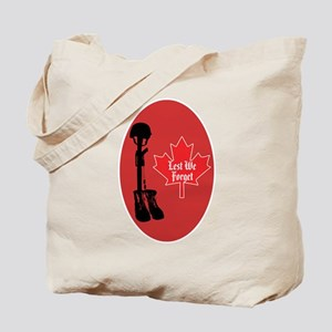 Canadian fallen soldiers Tote Bag