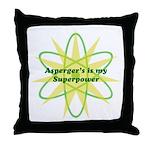 Aspie Superpower Throw Pillow