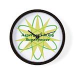 Aspie Superpower Wall Clock