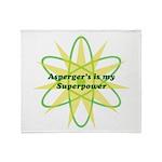 Aspie Superpower Throw Blanket