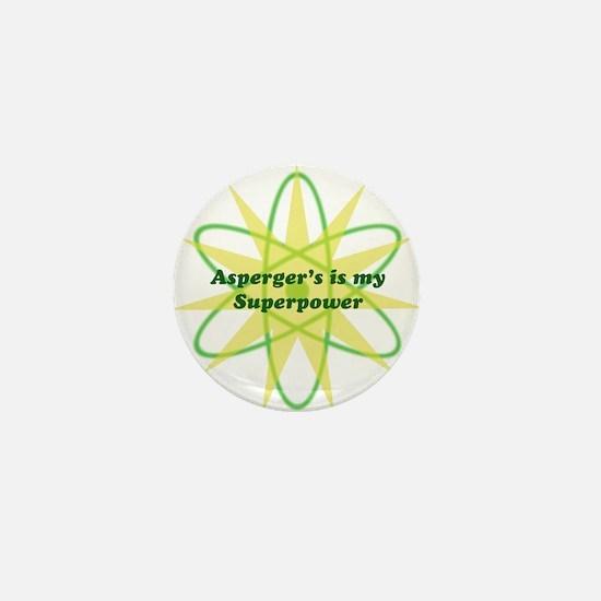 Aspie Superpower Mini Button