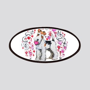Fox Terrier Sweetheart Patches